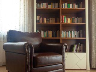 antonio felicetti architettura & interior design 现代客厅設計點子、靈感 & 圖片 木頭 Brown