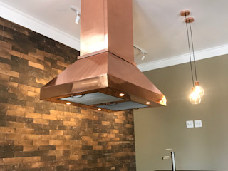 Gibeli Refrigeração Built-in kitchens Copper/Bronze/Brass Yellow