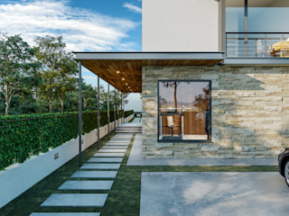 yücel partners 現代房屋設計點子、靈感 & 圖片