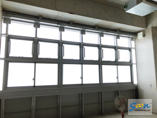 Soon Industrial Co., Ltd. 窗戶 鋁箔/鋅 Metallic/Silver