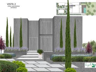 UNIFAMILIAR ALCUDIA VINAGRELLA Jardines de estilo moderno