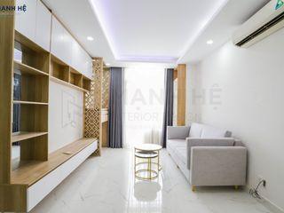HOÀN THIỆN NỘI THẤT CĂN HỘ LAN PHƯƠNG - 75M2 - A.TÂN Công ty Cổ Phần Nội Thất Mạnh Hệ Phòng khách