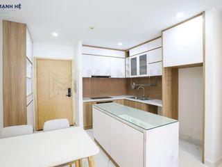 HOÀN THIỆN NỘI THẤT CĂN HỘ LAN PHƯƠNG - 75M2 - A.TÂN Công ty Cổ Phần Nội Thất Mạnh Hệ Tủ bếp