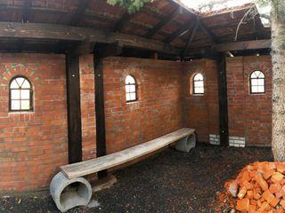 Gartenprojekt Antik-Stein Gartenhaus