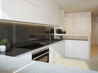 Montevideu Six Villas Padimat Design+Technic Armários de cozinha Quartzo Branco