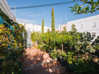 Valencia Architects Terrace house Green