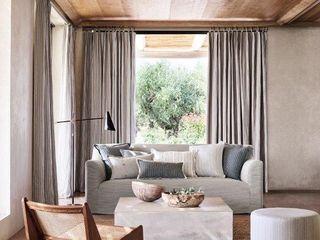 NEUE Stoffe - Leinen eine vielseitige und nachhaltige Naturfaser. Atelier Winter & Partner WohnzimmerSofas und Sessel