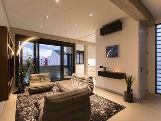 Valencia Architects Living room Glass Black