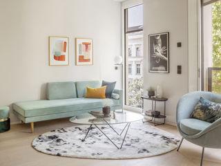 Eigentumswohnung Templiner Straße Kempfer- Raumkonzepte Moderne Wohnzimmer