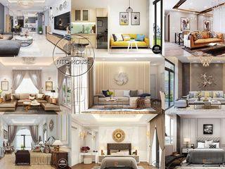 Thiết kế nội thất đẹp với đa phong cách khác nhau NEOHouse