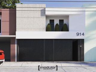 Modulor Arquitectura 房子 水泥 White