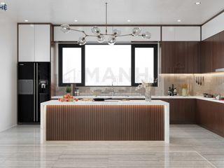 NỘI THẤT BIỆT THỰ VŨNG TÀU - 3PN - ANH THẮNG Công ty Cổ Phần Nội Thất Mạnh Hệ Tủ bếp