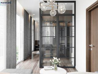 NỘI THẤT BIỆT THỰ VŨNG TÀU - 3PN - ANH THẮNG Công ty Cổ Phần Nội Thất Mạnh Hệ Phòng ngủ phong cách hiện đại