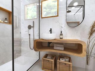 Smile Bath S.A. Kamar Mandi Tropis Kayu Wood effect