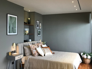 A interiorismo by Maria Andes Modern style bedroom