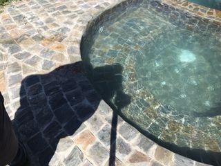 Kaland Water Swimming pond Stone Grey