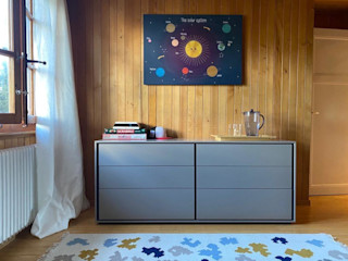 ITALIANELEMENTS BedroomBedside tables MDF Grey