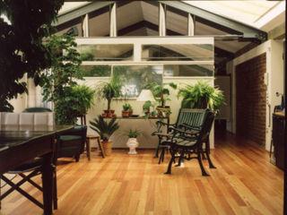 Arch+ Studio غرفة المعيشة خشب Green