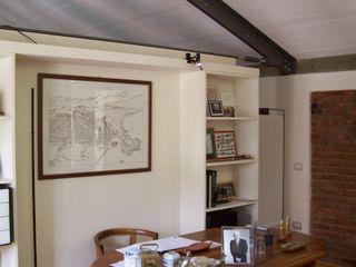 Arch+ Studio مكتب عمل أو دراسة خشب White