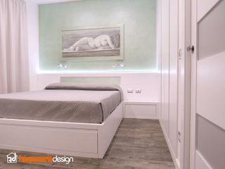 Camera da letto completa Falegnamerie Design Camera da lettoLetti e testate Legno Bianco