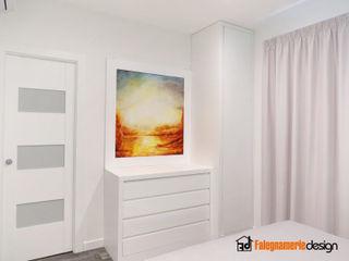 Camera da letto completa Falegnamerie Design Camera da lettoArmadi & Cassettiere Legno Bianco