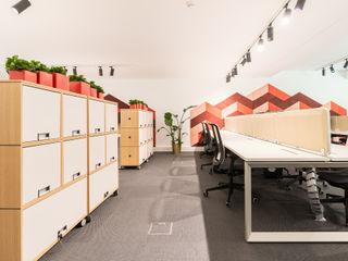 Escritórios Medicare HQ Rima Design Escritórios escandinavos