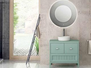 Movel Alma Fator Banho Casa de banhoArmários Turquesa