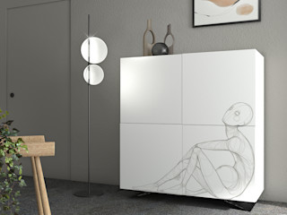 lab58 Living roomCupboards & sideboards White