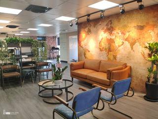 台中輕工業風景觀辦公室 以恩室內裝修設計工程有限公司 辦公大樓