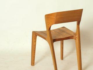 Esszimmerstuhl aus Massivholz Holzarbeiten André Findeisen Moderne Esszimmer Holz