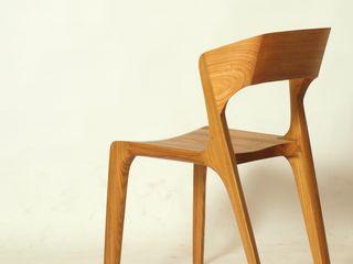 Esszimmerstuhl aus Massivholz Holzarbeiten André Findeisen Moderne Küchen Massivholz