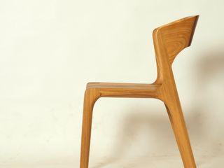 Esszimmerstuhl aus Massivholz Holzarbeiten André Findeisen Moderne Wohnzimmer Massivholz