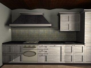 Cucina Arredamenti Caneschi srl Cucina piccola Legno Bianco