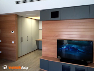 Boiserie Falegnamerie Design Soggiorno moderno