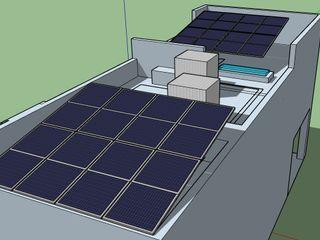 ESPECIALISTAS EN ENERGÍA SOLAR SOLAR MX INSTALACIÓN DE PANELES SOLARES Terrazas en el techo
