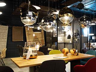 Skapetze Lichtmacher Modern dining room Glass Metallic/Silver