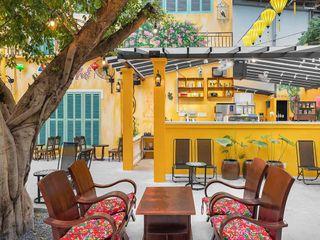 Mẫu thiết kế quán cafe sân vườn đẹp hiện đại 550m2 tại quận Gò Vấp NEOHouse