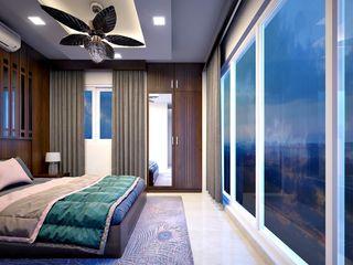 Premdas Krishna SchlafzimmerBetten und Kopfteile Holz Holznachbildung