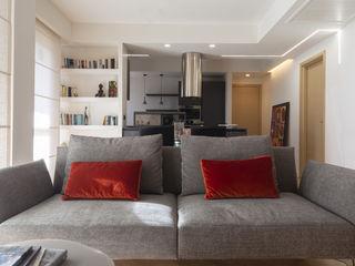 zero6studio - Studio Associato di Architettura Ruang Keluarga Modern