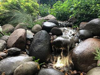 Hábitas Bahçe süs havuzu Taş Bej