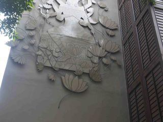 mrittika, the sculpture 병원 알루미늄 / 아연 그레이