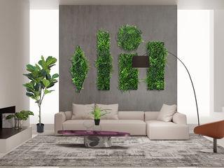 Art Framed Plants Wall Decor Sunwing Industries Ltd HouseholdPlants & accessories Plastic Green