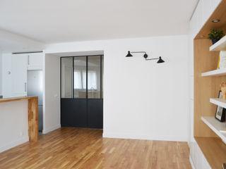 Appartement 70m² - Paris 17 A comme Archi Salon moderne