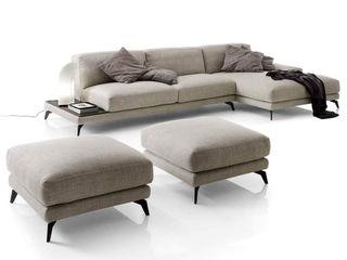Arredo salotto con divano con penisola TopArredi Soggiorno moderno