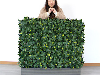 Artificial Boxwood Planters in Commercial Landscaping Sunwing Industries Ltd Office buildings Wood-Plastic Composite Green