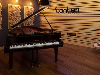Studio di registrazione Cantieri 51 MasAcoustics Sala multimediale moderna