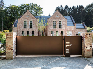 Nordzaun Front garden Aluminium/Zinc Brown