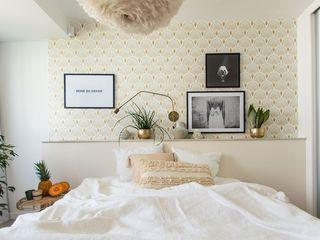 Cia Designs Scandinavian style bedroom