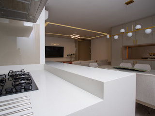 Sgabello Interiores KitchenBench tops White