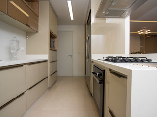 Sgabello Interiores KitchenCabinets & shelves MDF Beige